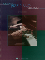 Quartal Jazz Piano Voicings