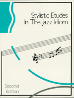 Stylistic Etudes in the Jazz Idiom