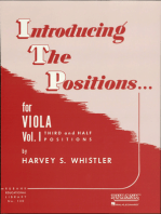 Introducing the Positions for Viola: Volume 1 - Third and Half Positions