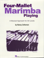Four-Mallet Marimba Playing