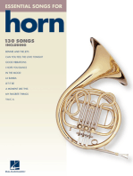 Essential Songs for Horn