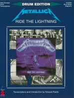 Metallica - Ride the Lightning: For Drums