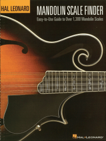 Mandolin Scale Finder: Easy-to-Use Guide to Over 1,300 Mandolin Chords 9 inch. x 12 inch. Edition