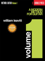 A Modern Method for Guitar - Volume 1: Guitar Technique
