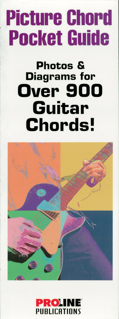 Picture Chord Pocket Guide Photos Diagrams For Over 900 Guitar Chords