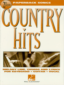 Country Hits - 2nd Edition: Paperback Songs