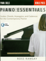 Piano Essentials: Scales, Chords, Arpeggios, and Cadences for the Contemporary Pianist