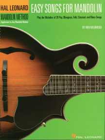 Easy Songs for Mandolin: Supplementary Songbook to the Hal Leonard Mandolin Method