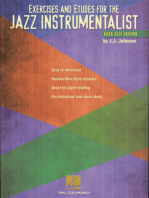 Exercises and Etudes for the Jazz Instrumentalist: Bass Clef Edition