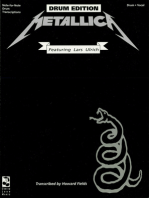 Metallica: (Black) For Drums