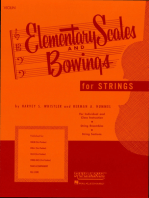 Elementary Scales and Bowings - Violin