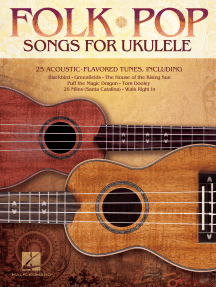 Folk Pop Songs for Ukulele (Songbook)