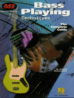 Bass Playing Techniques