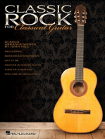 Classic Rock for Classical Guitar