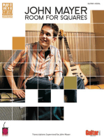 John Mayer - Room for Squares: Transcriptions Supervised by John Mayer