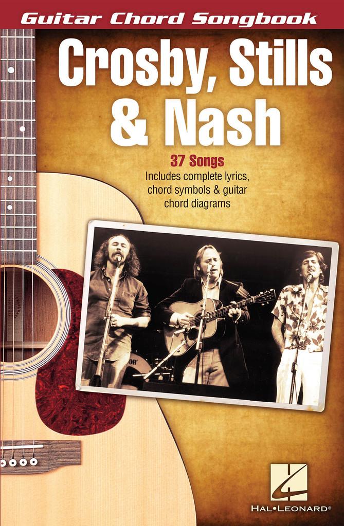 Crosby Stills Nash Guitar Chord Songbook By Crosby Stills