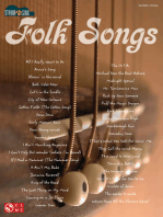 Folk Songs: Strum & Sing Series
