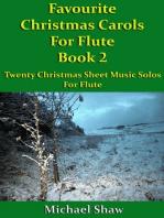 Favourite Christmas Carols For Flute Book 2