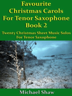 Favourite Christmas Carols For Tenor Saxophone Book 2