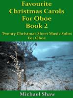 Favourite Christmas Carols For Oboe Book 2
