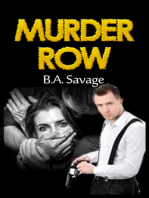 Murder Row (A Private Detective Mystery Series of crime mystery novels Book 1 )
