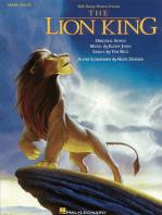 The Lion King Manuscript Paper