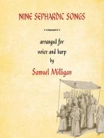 Nine Sephardic Songs: Arranged for Voice and Harp
