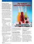 Study on Cold Beverage Market