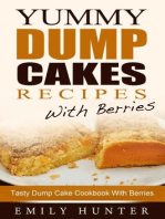 Yummy Dump Cake Recipes With Berries