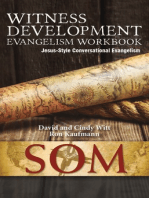 Witness Development Evangelism Workbook (Jesus-Style Conversational Evangelism)