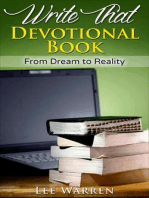 Write That Devotional Book