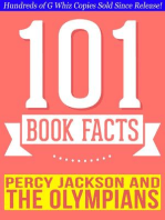 Percy Jackson and the Olympians - 101 Amazingly True Facts You Didn't Know (101BookFacts.com)
