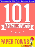 Paper Towns - 101 Amazing Facts You Didn't Know (GWhizBooks.com)