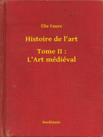Histoire de l'art - Tome II