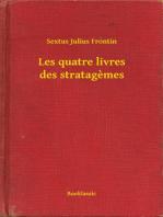 Les quatre livres des stratagemes