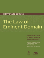 The Law of Eminent Domain