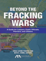 Beyond the Fracking Wars: A Guide for Lawyers, Public Officials, Planners, and Citizens