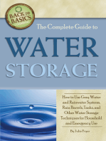 The Complete Guide to Water Storage
