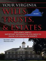Your Virginia Wills, Trusts, & Estates Explained Simply