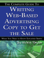 The Complete Guide to Writing Web-Based Advertising Copy to Get the Sale