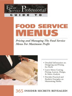 The Food Service Professional Guide to Restaurant Site Location Finding, Negotiationg & Securing the Best Food Service Site for Maximum Profit