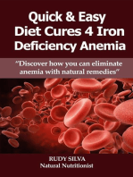 Quick and Easy Diet Cures 4 Iron Deficiency Anemia