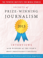 Secrets of Prize - Winning Journalism