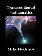 Transcendental Mathematics