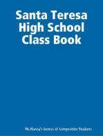 Santa Teresa High School Class Book