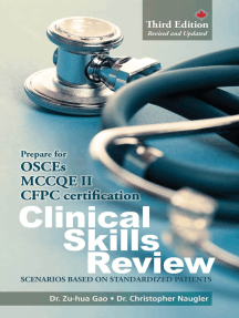 Clinical Skills Review: Scenarios Based on Standardized Patients
