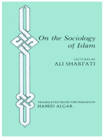 On the Sociology of Islam: Lectures