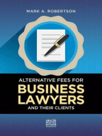 Alternative Fees for Business Lawyers and Their Clients
