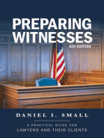 Preparing Witnesses