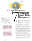 Seven Principles of SCM